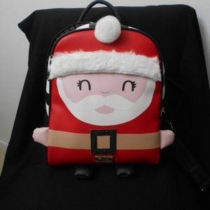 Betsey Johnson SANTA CLAUS BACKPACK